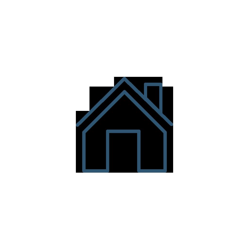 Handle hvitt hjemme
